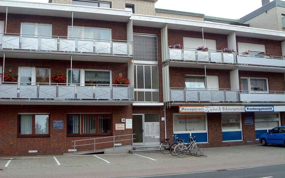 3 Zimmer Wohnung, Nähe Krankenhaus